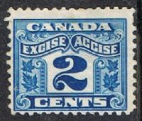 Canada Bft36 1915-28 Excise 2c used